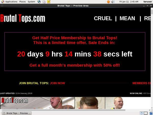 Become Brutal Tops Member