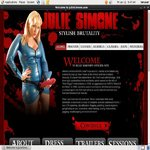 Become Julie Simone Member