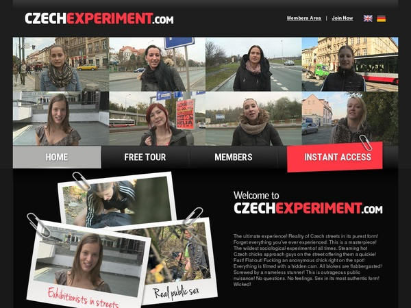 Czech Experiment Nude