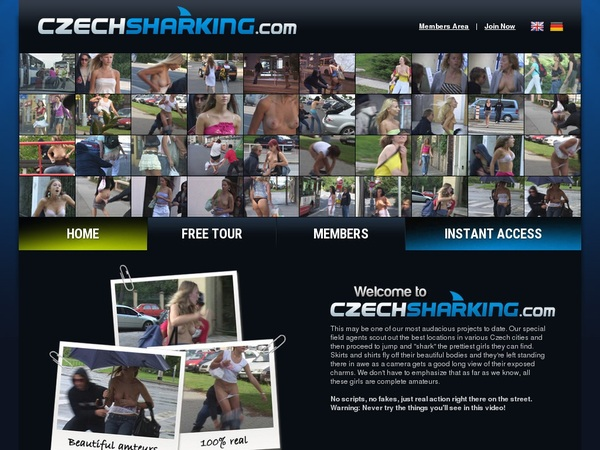 Czech Sharking Streaming