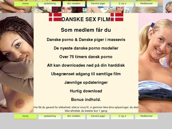 Danske Sex Film Paysite Passwords
