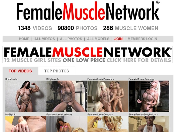 Female Muscle Network Free Premium Passwords