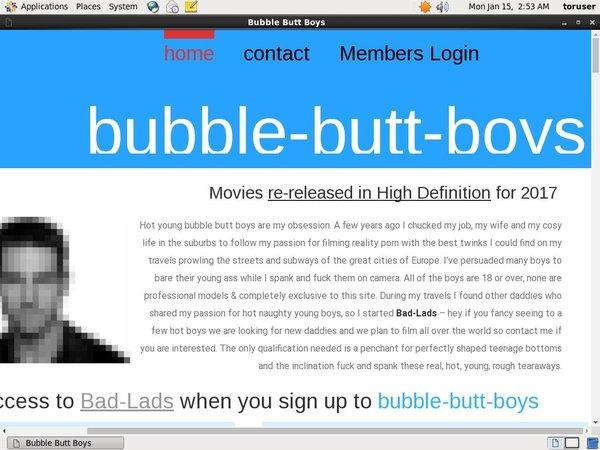 Free Bubblebuttboys Premium Accounts