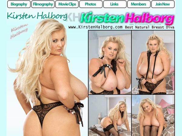 Free Kirsten Halborg Account Logins