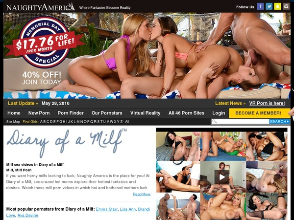 Free Premium Accounts For Diary Of A Milf