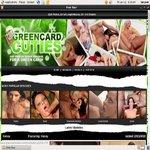 Green Card Cuties With Visa