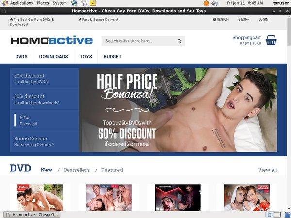 Homoactive Ccbill