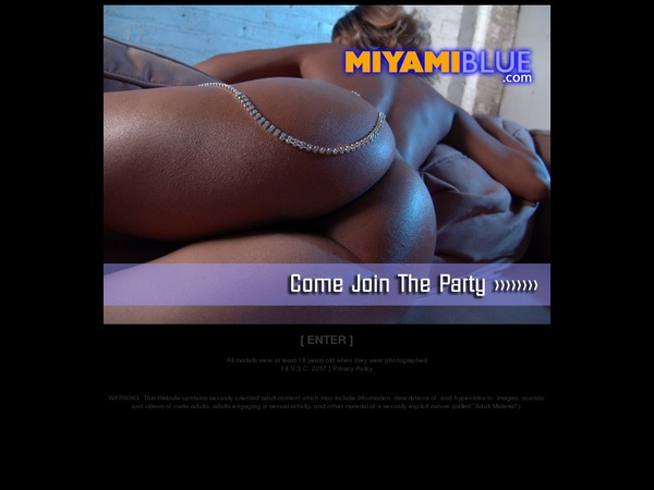 Miyami Blue Porn Password