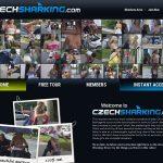 New Czechsharking.com Accounts