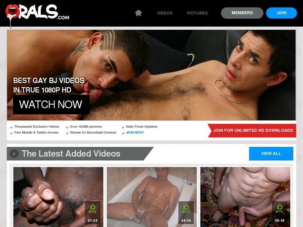 Orals Gay Member Discount
