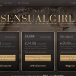 Sensual Girl Mobile Pass