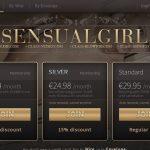 Sensualgirl With Discover Card
