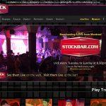 Stock Bar Logins