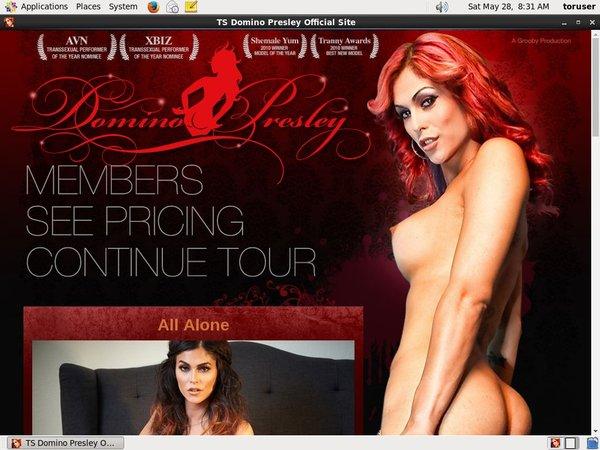 TS Domino Presley With Direct Debit