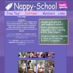 Nappy School With Yen