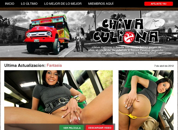 Sign Up For Chiva Culiona