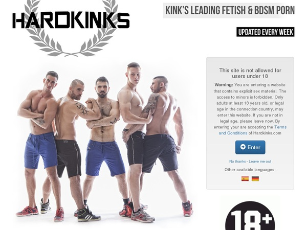 Hardkinks Membership Account