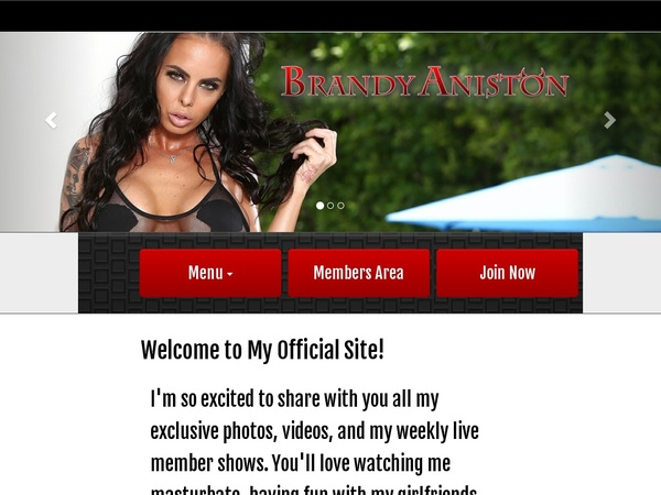 Brandyaniston.com Official