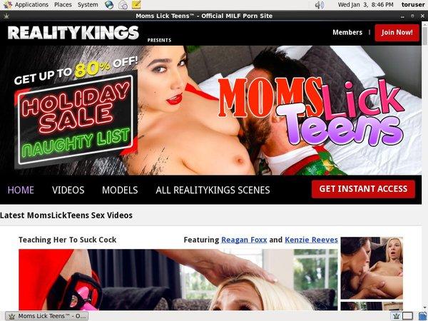 Moms Lick Teens Discount Account