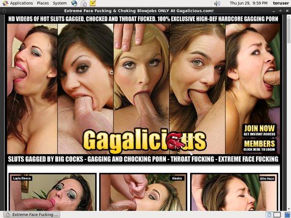 Gagalicious.com User And Pass