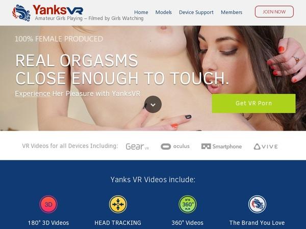 Yanks VR Daily Accounts