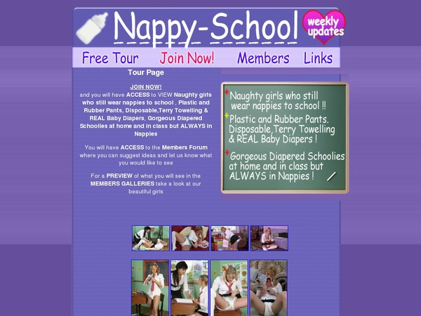 Nappy School Join Page