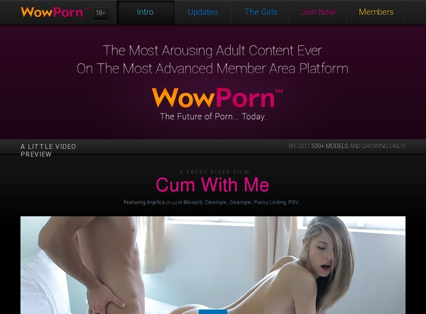 Wow Porn Join