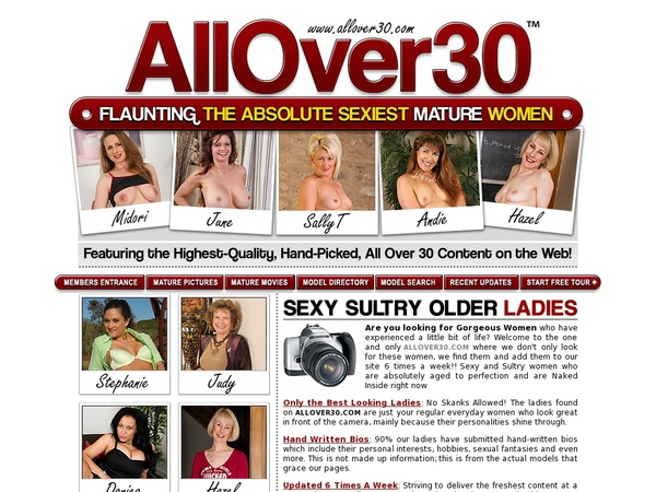 Allover30.com Working Password