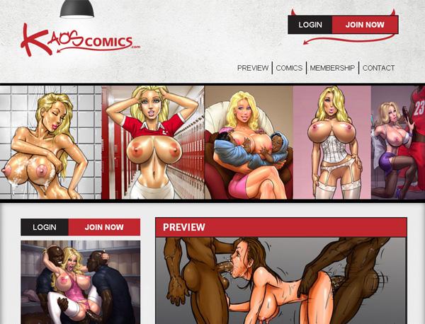 New Kaoscomics.com Password