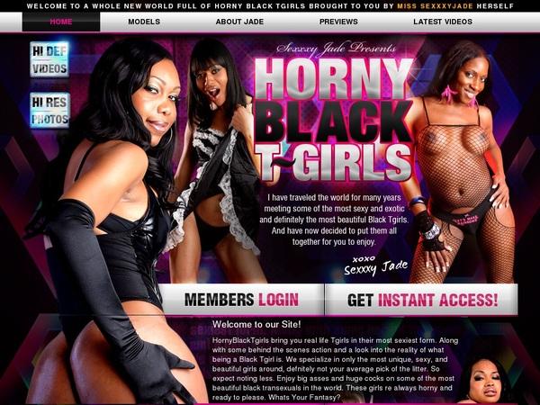 Horny Black TGirls Save Money